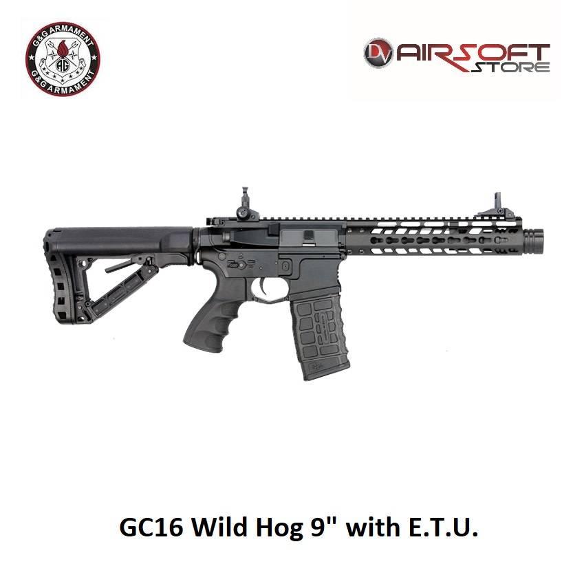 """G&G GC16 Wildschwein 9 """"mit ETU"""