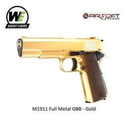 WE (Wei Tech) M1911 Full Metal GBB - Gold