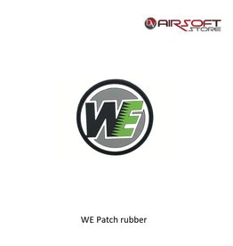 WE Europe WE Patch rubber