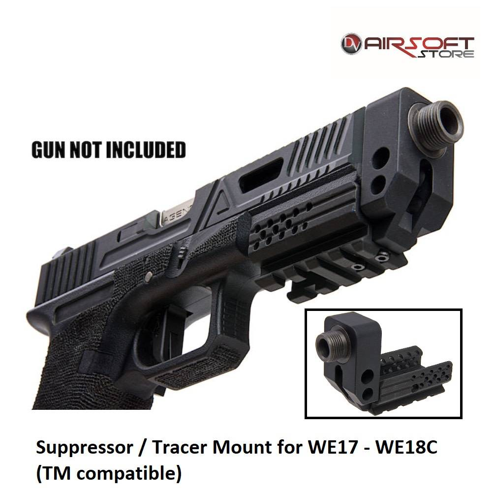 Airsoft Surgeon Suppressor Mount for WE17 - WE18C