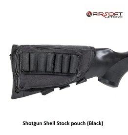 Shotgun Shell Stock pouch (Black)