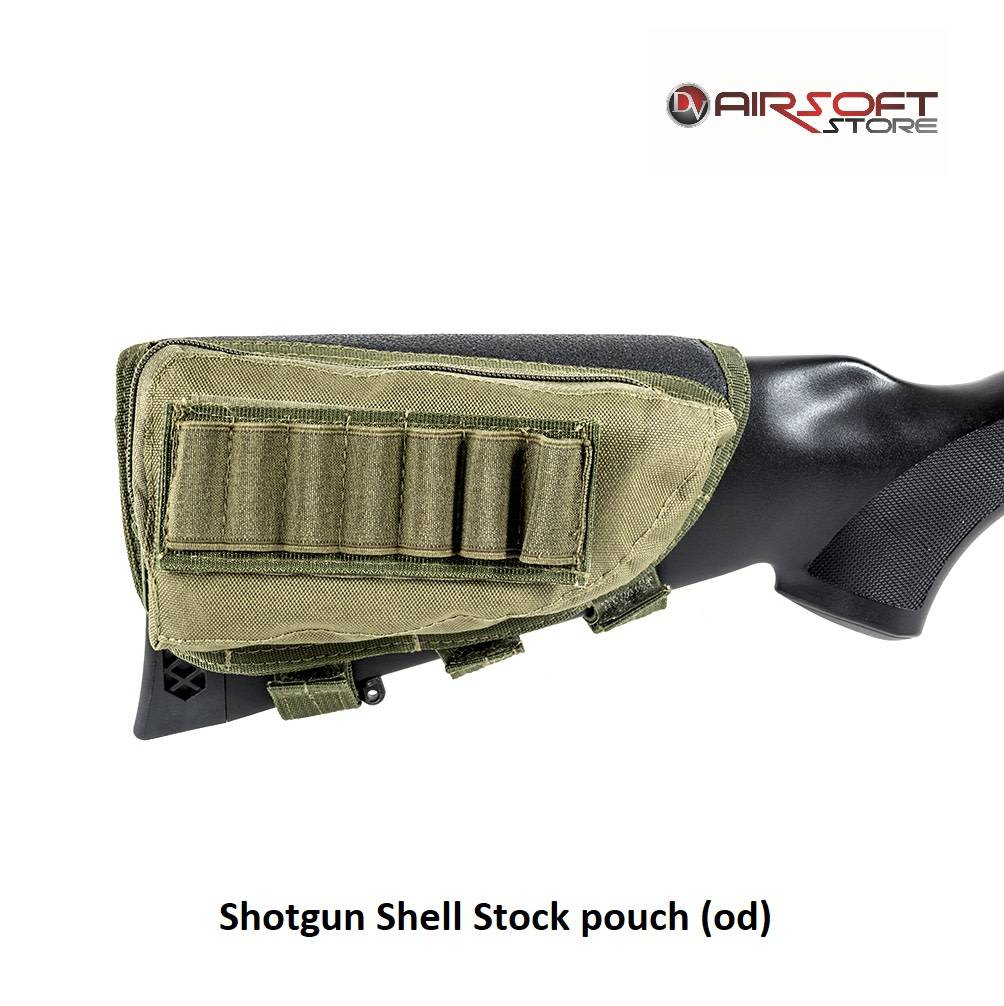 Shotgun Shell Stock Pouch Od Airsoft Store