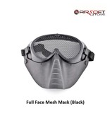 Full Face Mesh Mask (Black)