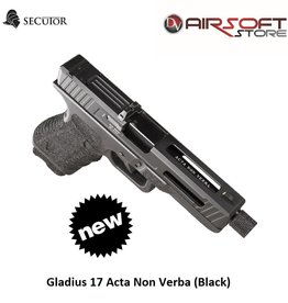 Secutor Gladius 17 Acta Non Verba (Black)