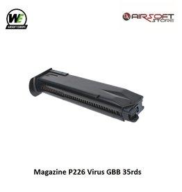 WE (Wei Tech) Magazine P226 Virus GBB 35rds