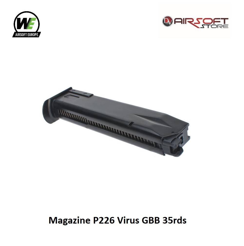 WE Europe Magazine P226 Virus GBB 35rds