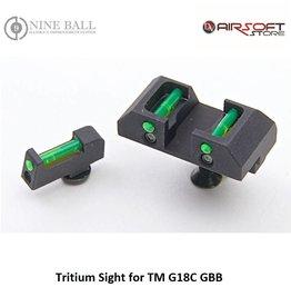 Nine Ball Tritium Sight for TM G18C GBB
