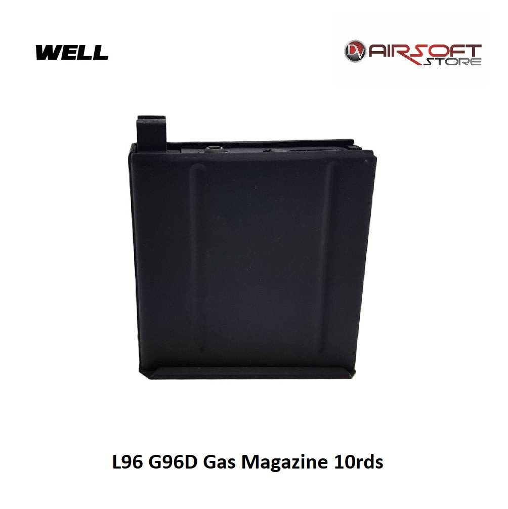 Well L96 G96D Gas Magazine 10rds