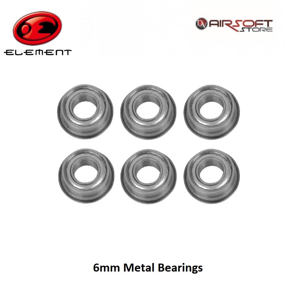 Element 6mm Metal Bearings (6 pcs)