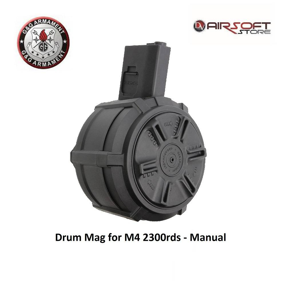 G&G Drum Mag for M4 2300rds - Manual