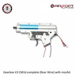 G&G Gearbox V2 CM16 complete (Rear Wire) with mosfet