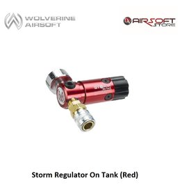 Wolverine Storm Regulator On Tank (Red)