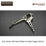 Speed Airsoft Kriss Vector AEG Gen2 Blade Tunable Trigger (Silver)