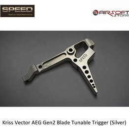 Speed Airsoft Kriss Vector AEG Gen2 Blade Tunable Trigger (Silver)