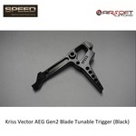 Speed Airsoft Kriss Vector AEG Gen2 Blade Tunable Trigger (Black)