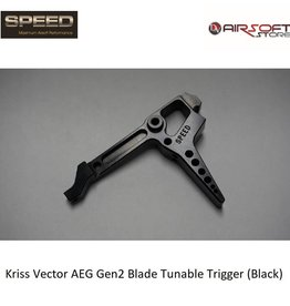 Speed Airsoft Kriss Vector AEG Gen2 Blade Tunable Trigger (Black)