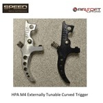 Speed Airsoft HPA M4 Externally Tunable Curved Trigger