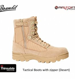 Brandit Tactical Boots with zipper (Desert)
