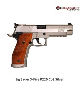 Sig Sauer X-Five P226 Co2 Silver