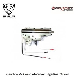 APS Gearbox V2 Complete Silver Edge Rear Wired
