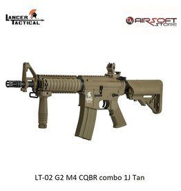 Lancer Tactical LT-02 G2 M4 CQBR combo 1J Tan