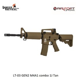 Lancer Tactical LT-03 GEN2 M4A1 combo 1J Tan