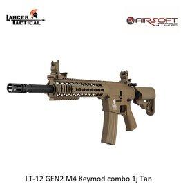 Lancer Tactical LT-12 GEN2 M4 Keymod combo 1j Tan