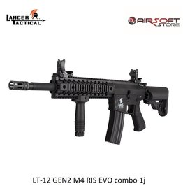 Lancer Tactical LT-12 GEN2 M4 RIS EVO combo 1j