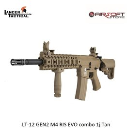 Lancer Tactical LT-12 GEN2 M4 RIS EVO combo 1j Tan