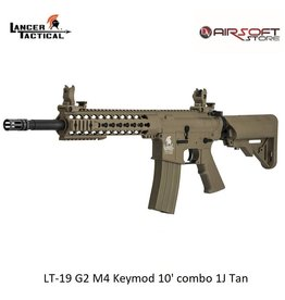 Lancer Tactical LT-19 G2 M4 Keymod 10' combo 1J Tan