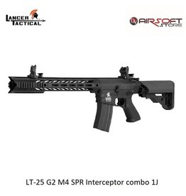 Lancer Tactical LT-25 G2 M4 SPR Interceptor combo 1J