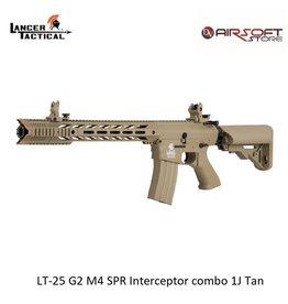 Lancer Tactical LT-25 G2 M4 SPR Interceptor combo 1J Tan
