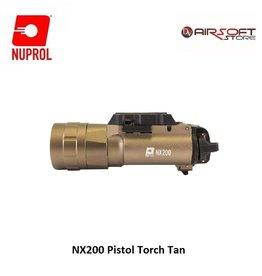 NUPROL NX200 Pistol Torch TAN