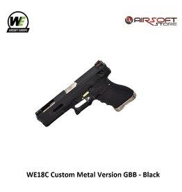 WE Europe WE18C G-Force GBB - Silver Black Black