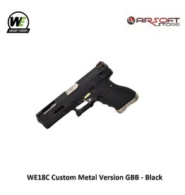 WE (Wei Tech) WE18C G-Force GBB - Silver Black Black