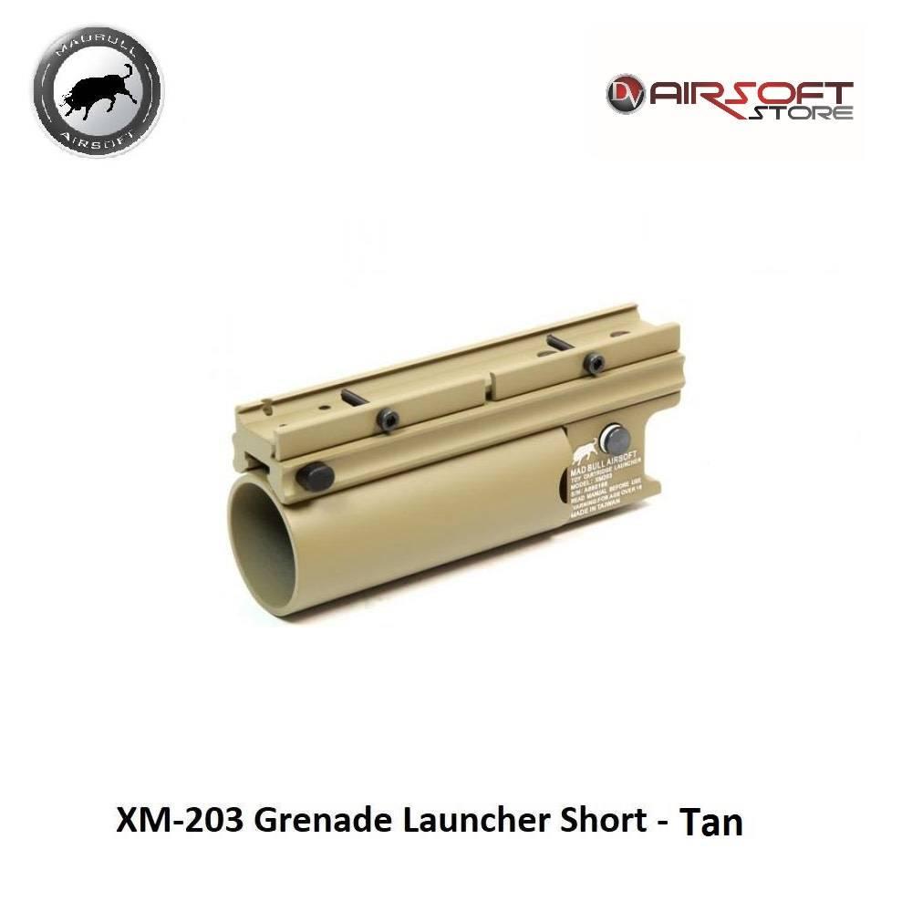 Madbull XM-203 Grenade Launcher Short - Tan