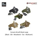 One Tigris Scream Airsoft Mask Large