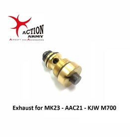 Action Army Exhaust for MK23 - AAC21 - KJW M700