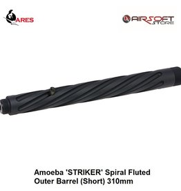 Ares Amoeba 'STRIKER' Spiral Fluted Outer Barrel (Short) 310mm