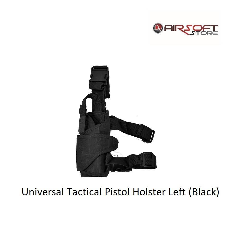 Universal Tactical Pistol Holster Left (Black)