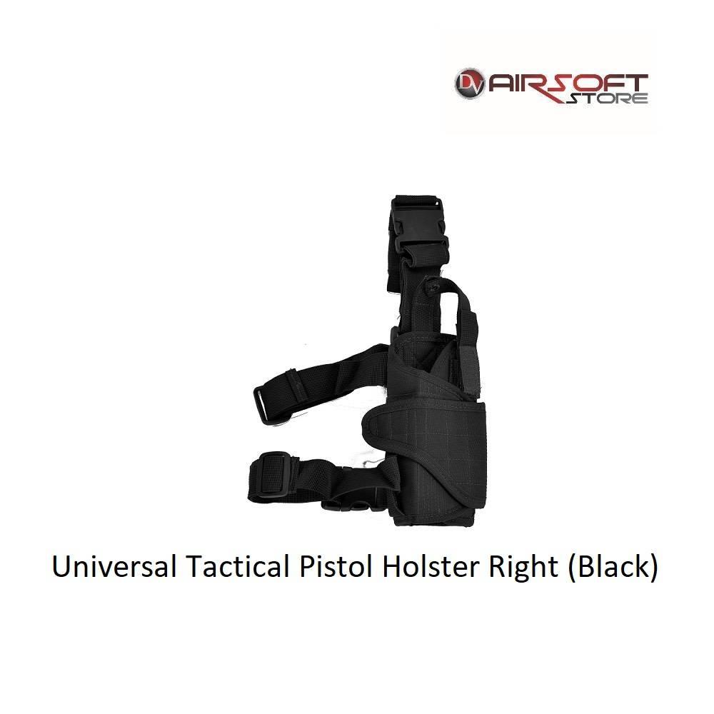 Universal Tactical Pistol Holster Right (Black)