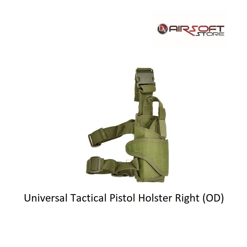 Universal Tactical Pistol Holster Right (OD)