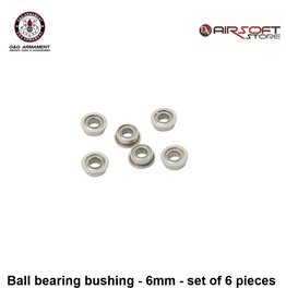 G&G Ball bearing bushing - 6mm - set of 6 pieces