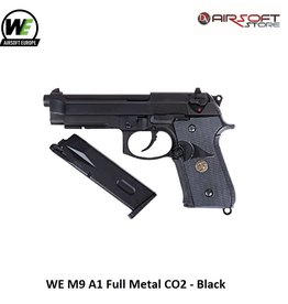 WE Europe WE M9 A1 Full Metal CO2 - Black