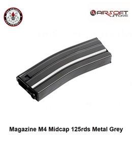 G&G Magazine M4 Midcap 125rds Metal Grey