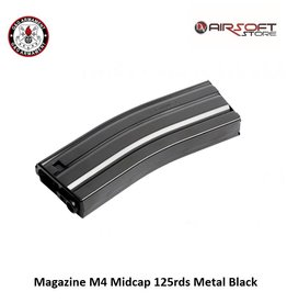 G&G Magazine M4 Midcap 125rds Metal Black
