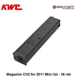 KWC Magazine CO2 for 2011 Mini Uzi - 38 rds