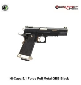 WE Europe Hi-Capa 5.1 G-Force TREX GBB - Black