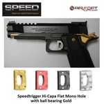 Speed Airsoft TM Hi-Capa ball bearing trigger Mono Hole (flat)