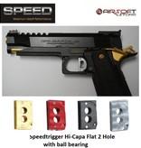 Speed Airsoft TM Hi-Capa ball bearing trigger 2 Hole (Flat)